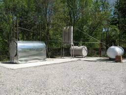 Оборудование для переработки шин и полимеров в топливо.