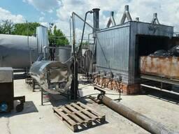 Оборудование для пиролиза отходов резины, шин и пластиков