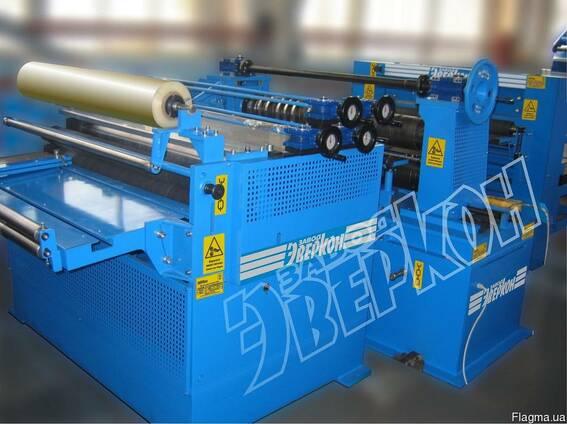 Оборудование для продольно поперечной резки рулонной стали