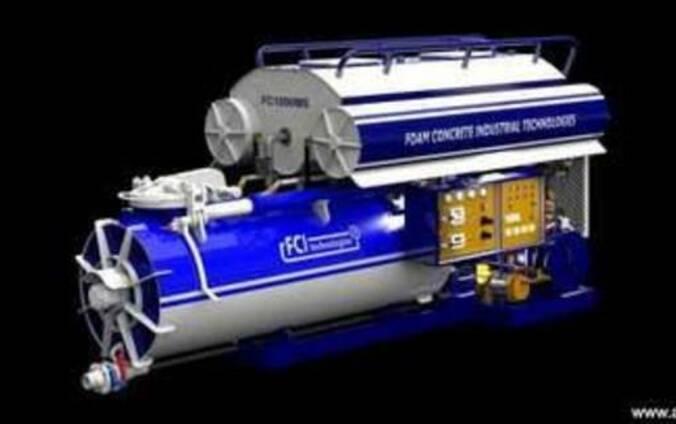Оборудование для производства монолитного пенобетона