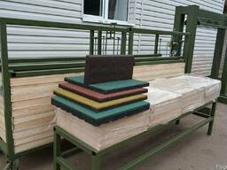 Оборудование для производства резиновой плитки .