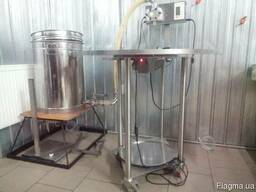 Оборудование для расфасовки (разлива) меда/вязких жидкостей,
