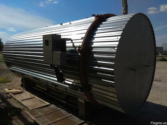 Камера термічної обробки деревини (термомодифікація)
