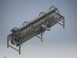 Оборудование для удаления косточек из жмыха винограда