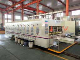 Оборудование для высечки и печати гофрокартона