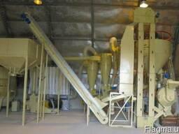Оборудование измельчения и гранулирования соломы