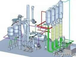 Оборудование по производству КСБ, распылительная сушилка