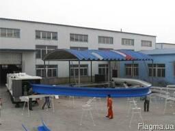 Оборудование для строительства бескаркасных ангаров 1000/610