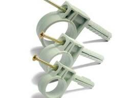 Обойма для труб Ziplex Ø 13-14мм с ударным шурупом
