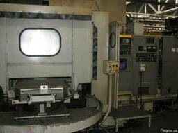Обрабатывающий центр Mitsui seiki HR-5В с ЧПУ Fanuc 6M-B
