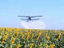 Обработка полей с воздуха самолетом - фото 1