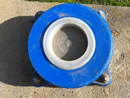 Обратный клапан двухстворчатый ZETKA DN40 / PN16