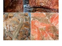 #Обрезь лосося#подшкурная обрезь лосося