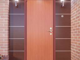 Обробка Вхідний Двері Ламінатом Обшити Дверний Укіс Тамбур