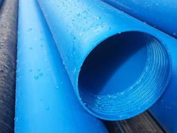 Труба Обсадная 160мм/7. 7мм синяя ПНД 3м