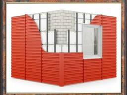 Обшивка/отделка фасадов и стен - профнастил, сайдинг, вагонка