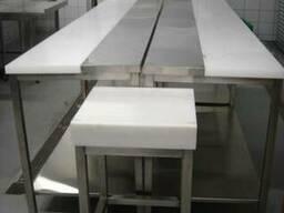 Обвалочные столы и колоды для мяса из нержавейки