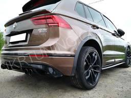 Пороги Volkswagen Tiguan R-Line 2020 2019 2018 2017