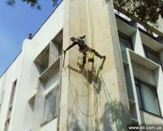 Очистка фасадов и гидрофобизация