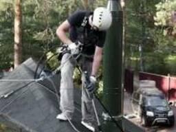Очистка крыши от мха, обработка крыши, покраска, мойка
