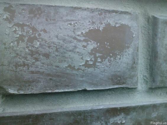 Удаление чистка лака, клея, старых пропиток с гранита, мрамо