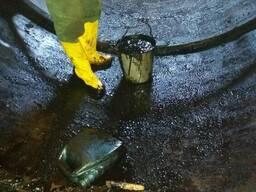 Очистка резервуаров,емкостей от остатков хранимого продукта