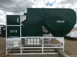Очистка семян на сепараторе ИСМ-40 ЦОК