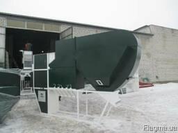 Аэродинамический сепаратор для очистки и калибровки зерновых
