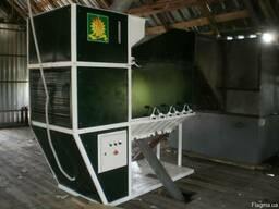 Очистка зерна на сепараторе ИСМ-40