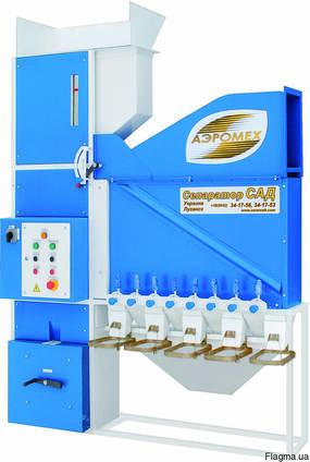 Очистка зерна - Сепаратор аэродинамический САД-4