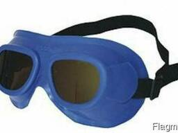 Очки защитные газосварщика ЗН18 Г2 с минеральными стеклами
