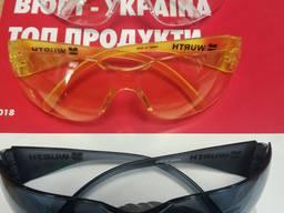 Очки защитные (поликарбонатное стекло, защита от ударов)