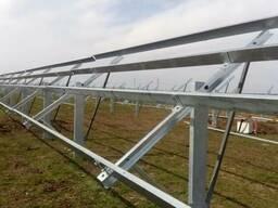 Оцинкованный профиль для монтажа солнечных панелей