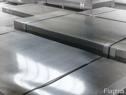 Оцинковка листовая лист 0,5х1250х2500 мм сталь DX51D
