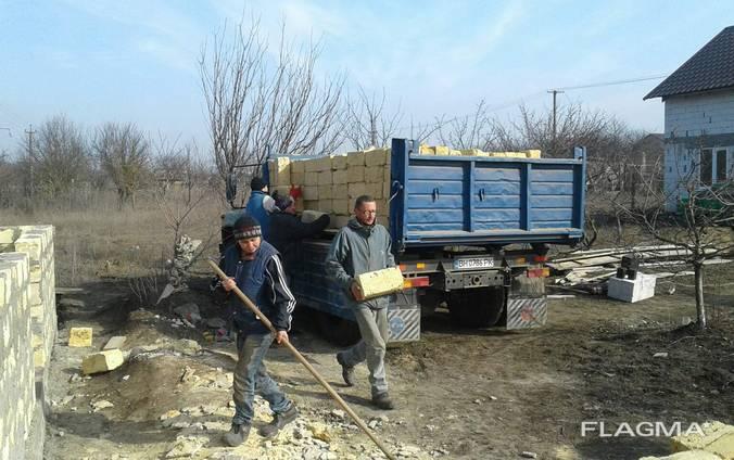 Одесский камень ракушняк, крепкий, ровный с доставкой