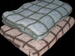 Одеяла детские полушерстяные, размер 100на 140, одеяла разные
