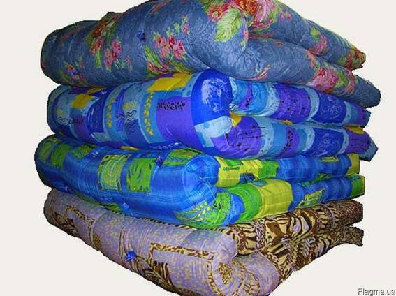Одеяла ватные, полуторные, двойные под заказ от 10 штук