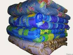 Одеяла ватные,полуторные, двойные под заказ от 10 штук
