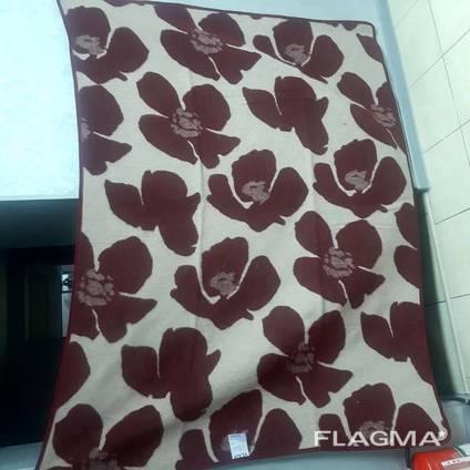 Одеяло 140х200 см 70% шерсти