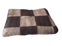 Одеяло полушерстяное коричневое(полуторное)Размер:140х205. Шерсть-50%, п/э-30%, ПАН -20%