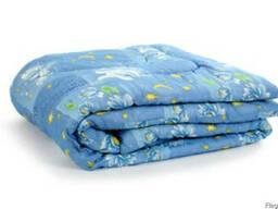 Одеяло ватное,шерстяное, стеганное, размер 140 на 205
