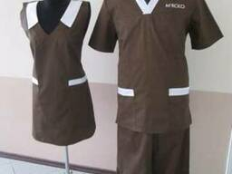 Одежда для работников мясных магазинов, пекарень