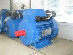 Однофазный электродвигатель 1.5 кВт 3000 об/мин 220В АЭМУТ80