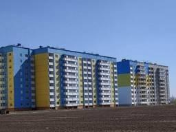 Однокомнатная квартира после строителей, с автономкой.