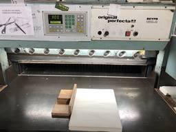 Одноножевая резальная машина Perfecta Seypa 132-2