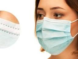 Медицинская одноразовая маска