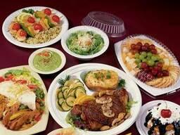 Одноразовая посуда: тарелки, супные емкости, стаканчики и др