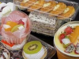 Одноразовая упаковка: блистерная, упаковка для суши, фруктов