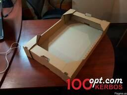Однородный картонный ящик яблоко