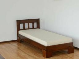 Односпальная кровать с ламелями Ярина 90 (дерево) Летро